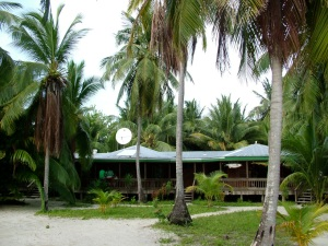 Lodging at South Water Caye