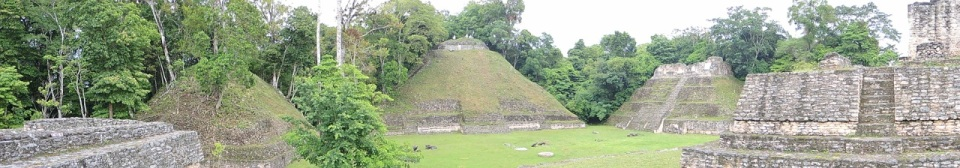 Panorama of Caracol Complex B.
