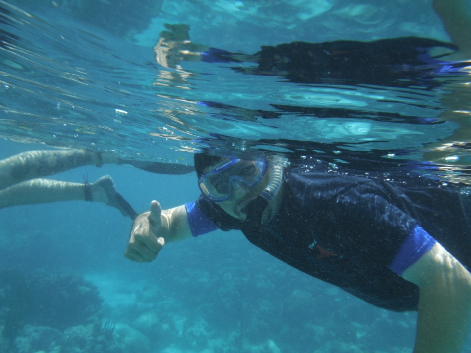 Dave Snorkeling