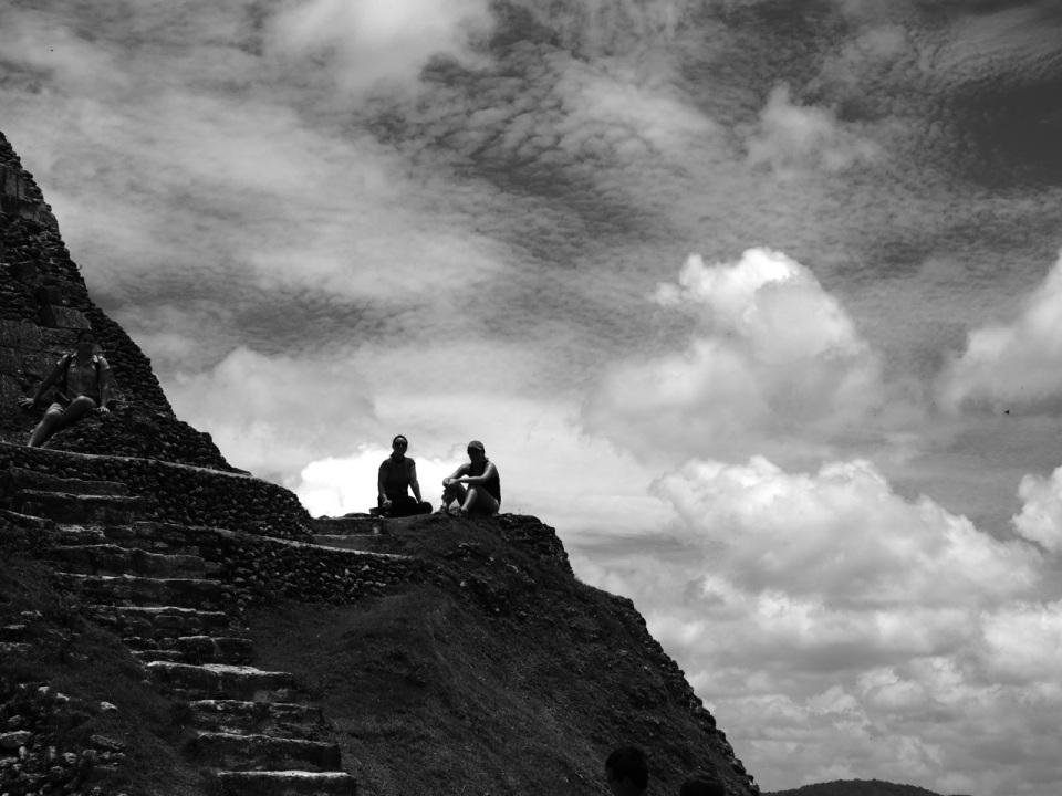 El Castillo Perched On