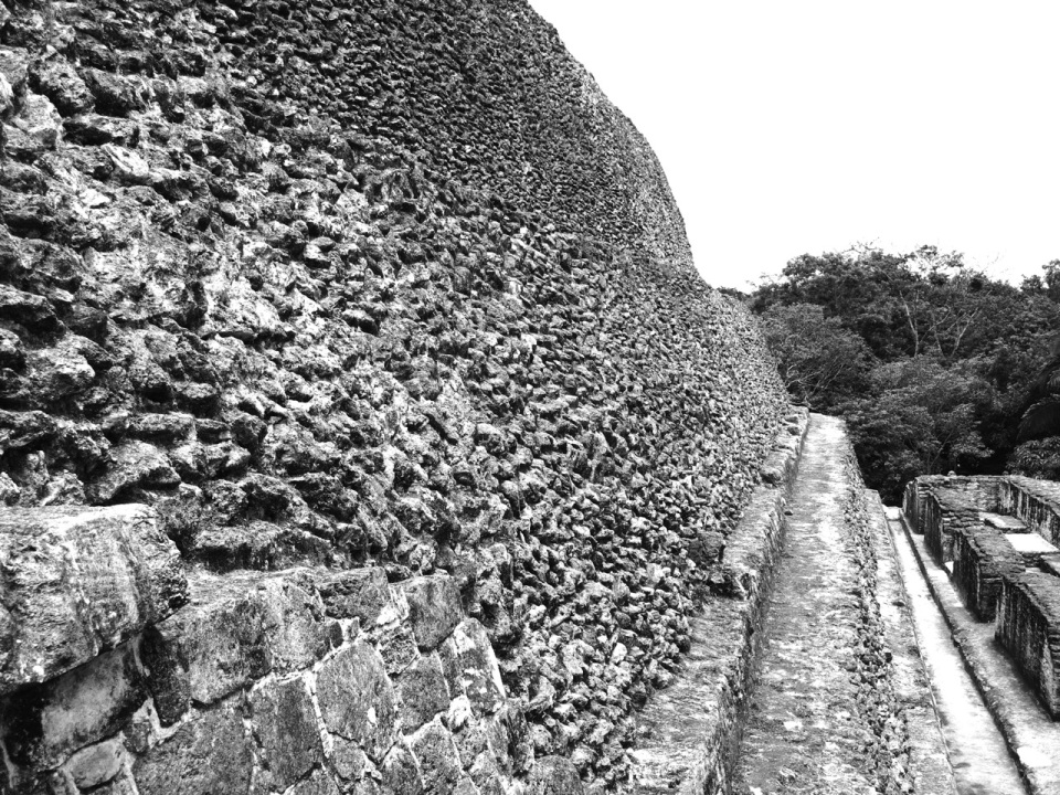 El Castillo Wall