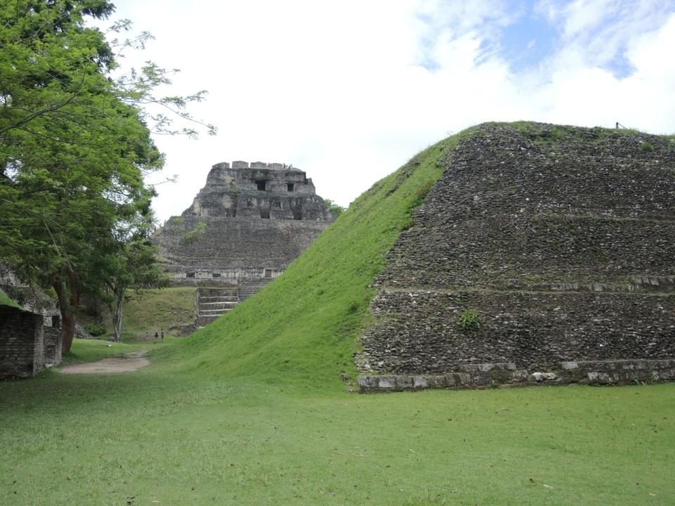 Xunantunich - classic Mayan site in Western Belize.