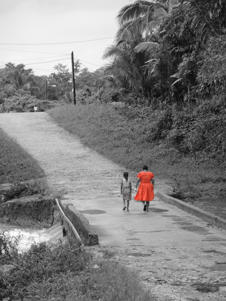 Orange Dress Bridge