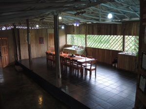 Dining area at TREES.