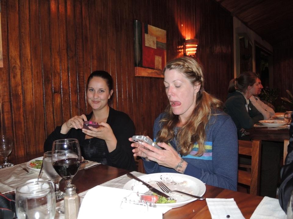 Dinner iPhones
