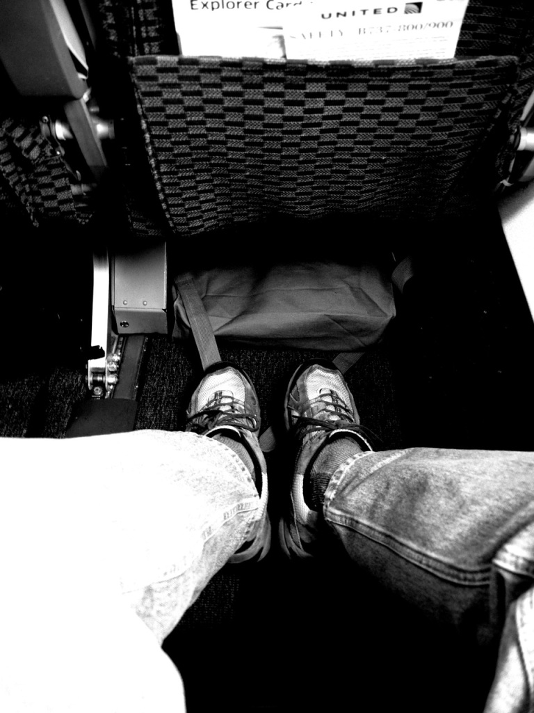 Ahhhhh...legroom to stretch!