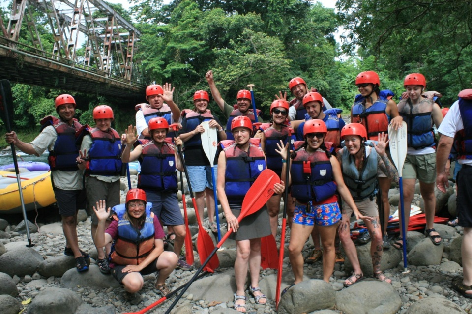 Rafting Group Photo
