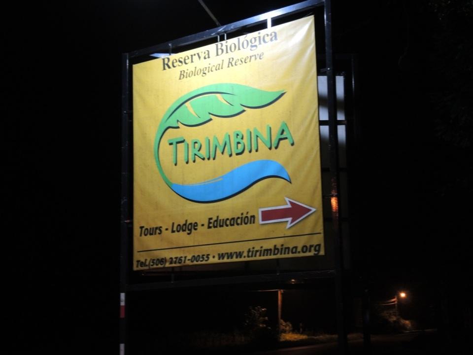 Tirimbina Signage
