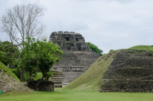 Main pyramid at Xunantunich