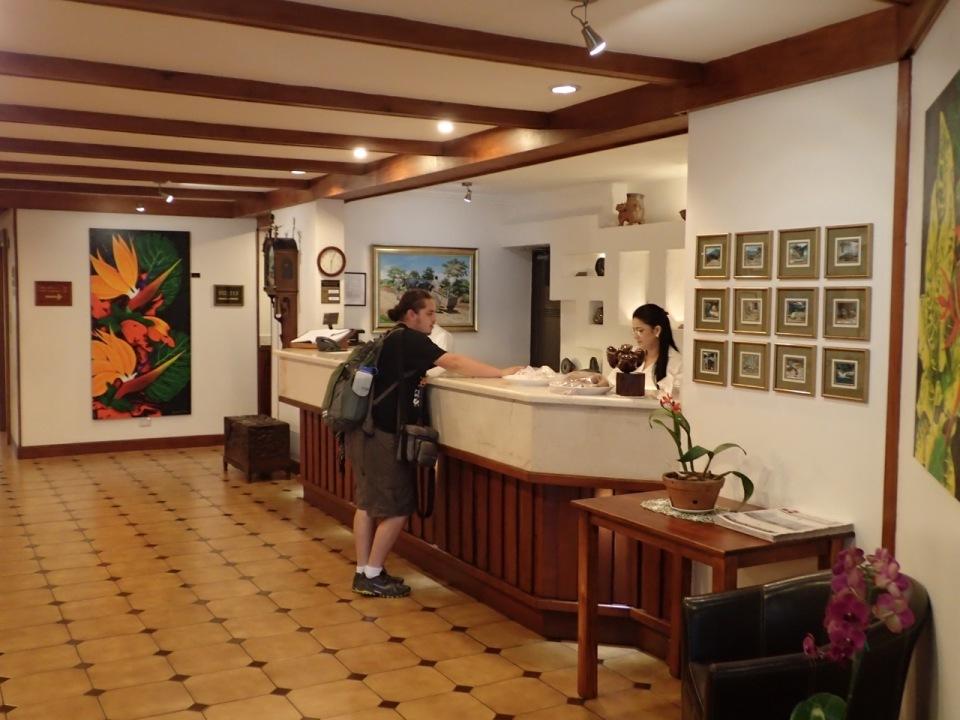 Hotel Bougainvillea Front Desk