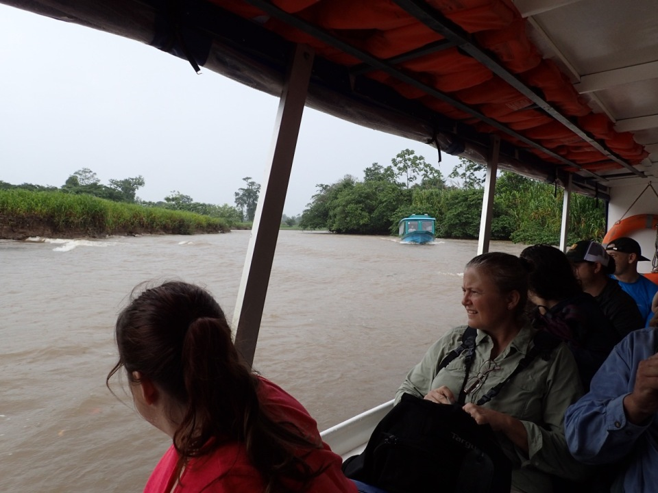 The boat ride to Tortuguero...like a real life Pirates of the Caribbean ride - except no pirates....