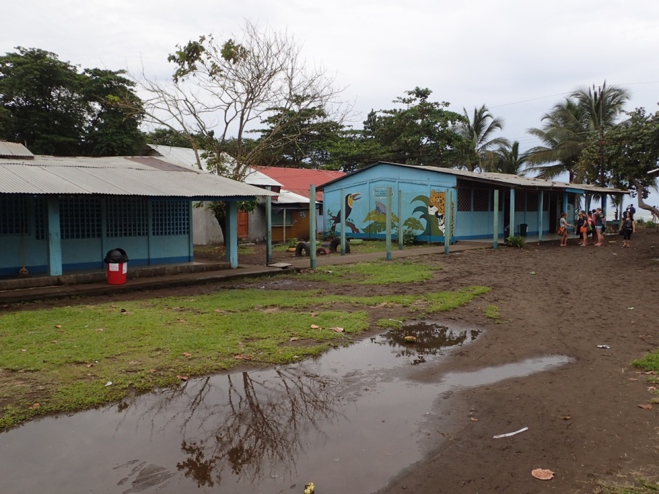 The school in Tortoguero.